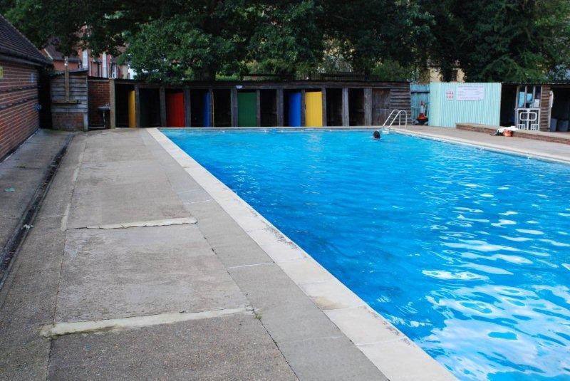 daybreak final reports safe surfacing at shere swimming pool